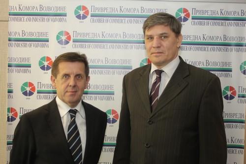 Именовани председник и заменик председника Скупштине Привредне коморе Војводине