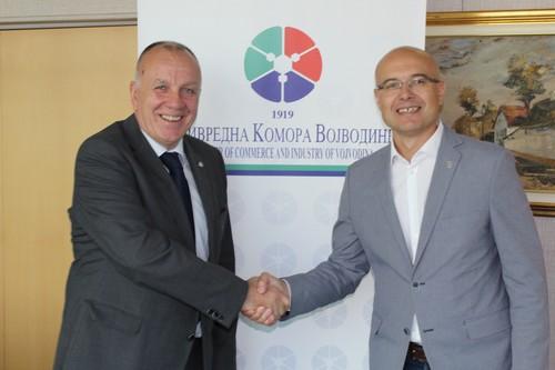 Градоначелник Града Новог Сада у посети Привредној комори Војводине