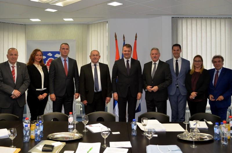 Привредна комора Војводине састала се у Бриселу са представницима европских регија
