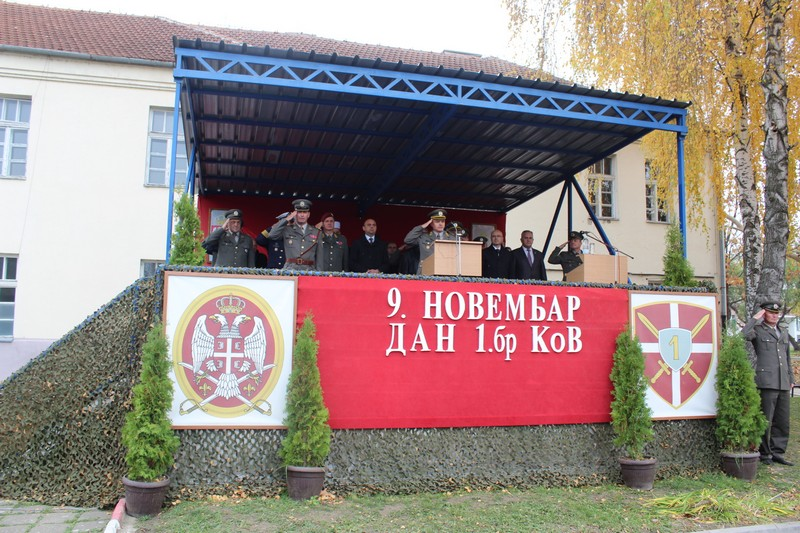 Привредна комора Војводине на обележавању Дана Прве бригаде КоВ
