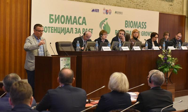 """Привредна комора Војводине на Међународној конференцији """"Биомаса – потенцијал за раст"""""""