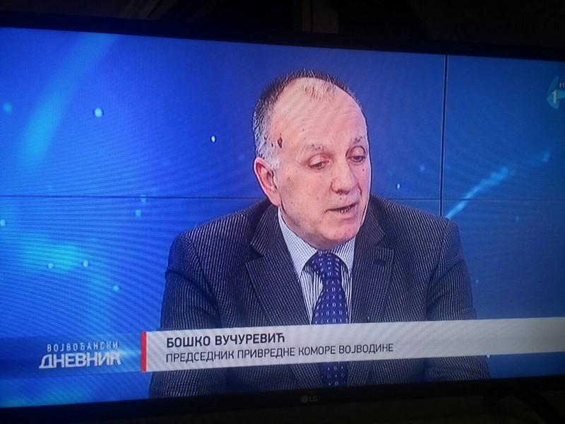 Привредна комора Војводине у Војвођанском дневнику на Радио телевизији Војводине