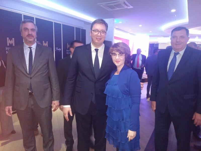 Привредна комора Војводине на свечаном пријему Привредне коморе Србије у Мостару