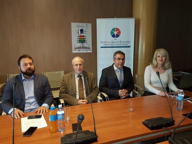 У Привредној комори Војводине одржана промоција Такмичења за најбољу технолошку иновацију 2018. у Србији