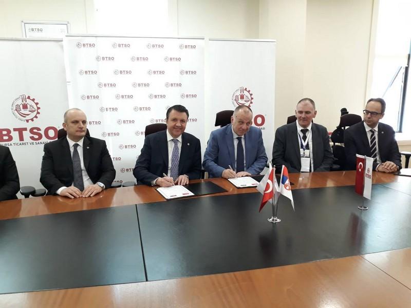 Озваничена сарадња између Привредне коморе Војводине и Привредне коморе Бурсе у Турској