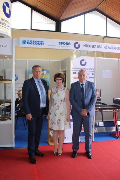 Привредна комора Војводине посетила Хрватску обртничку комору на Пољопривредном сајму