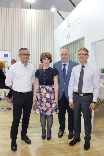 Привредна комора Војводине посетила Министарство пољопривреде, водопривреде и шумарства на Пољопривредном сајму