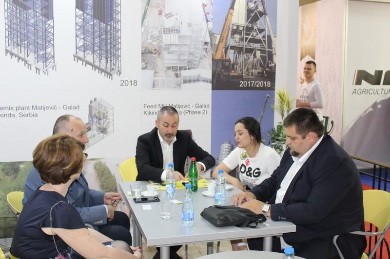 """Привредна комора Војводине посетила компанију """"O&M inženjering Group"""" на Пољопривредном сајму"""