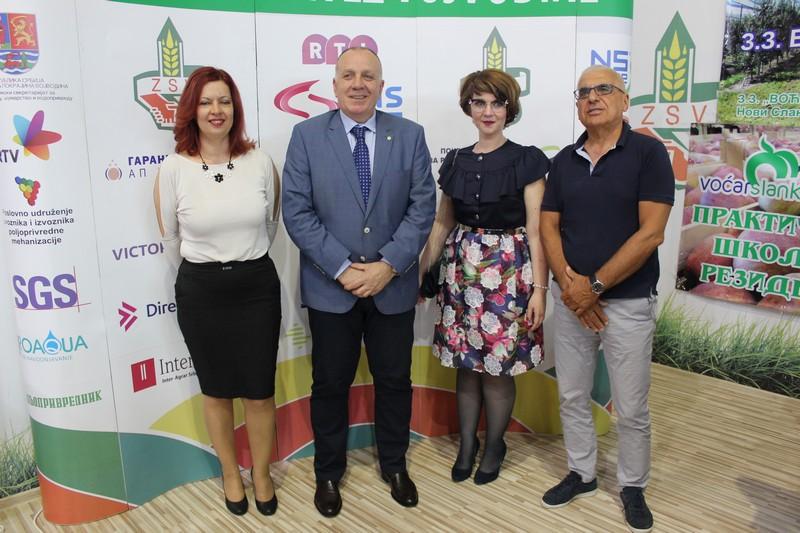 Привредна комора Војводине на штанду Задружног савеза Војводине на Пољопривредном сајму