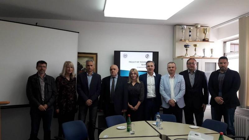 Привредна комора Војводине са делегацијом Црне Горе из ИТ сектора у посети Факултету техничких наука у Новом Саду