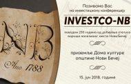 Позив привредницима на Инвестициону конференцију у Новом Бечеју