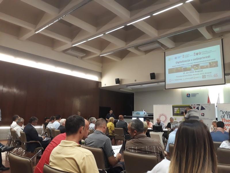 Привредна комора Војводине на конференцији о дигитализацији у пољопривреди