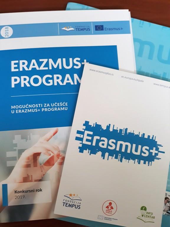 Еразмус+ конкурсни рок за 2019. годину