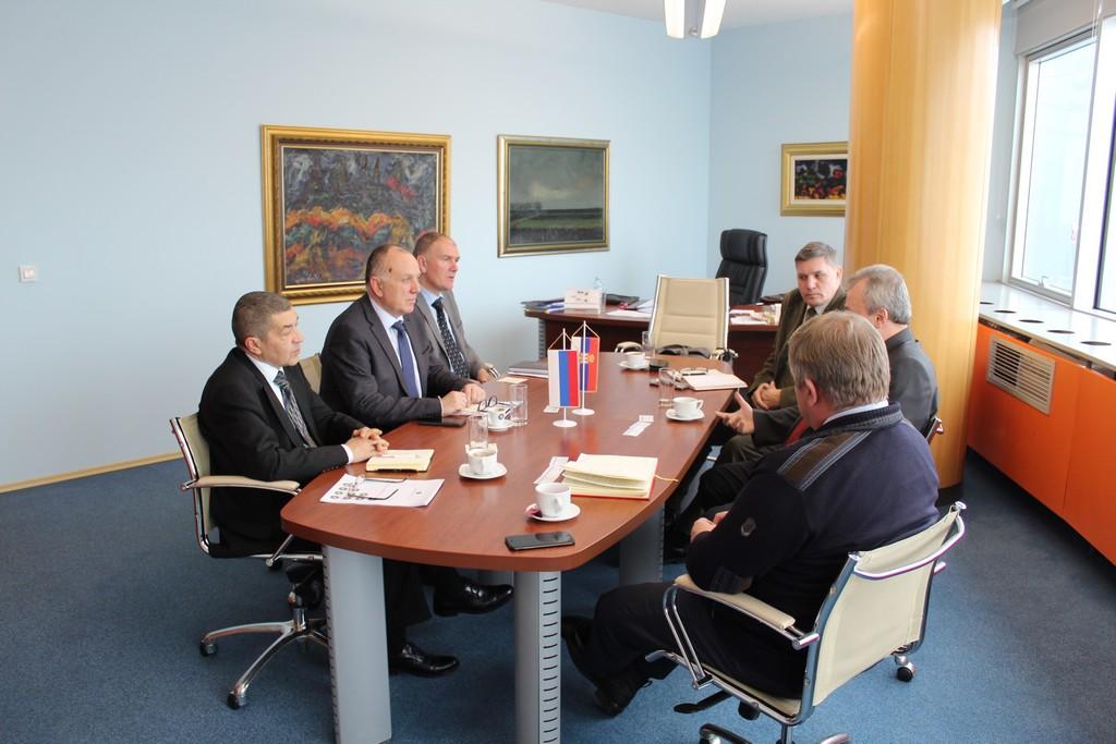 Састанак делегација Привредне коморе Војводине и Трговинског представништва Руске Федерације у Републици Србији