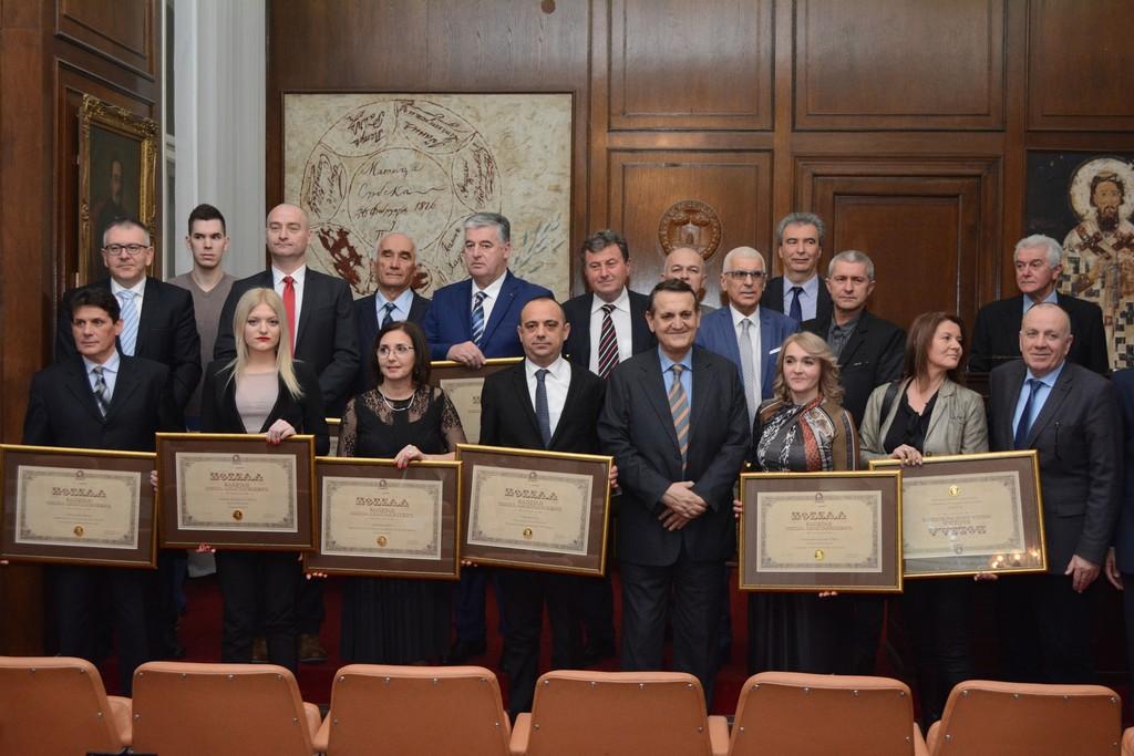 """Уручена признања """"Капетан Миша Анастасијевић"""""""