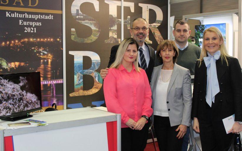 """Predstavljena turistička ponuda Srbije na Međunarodnom sajmu turizma """"Ferien"""" u Beču"""