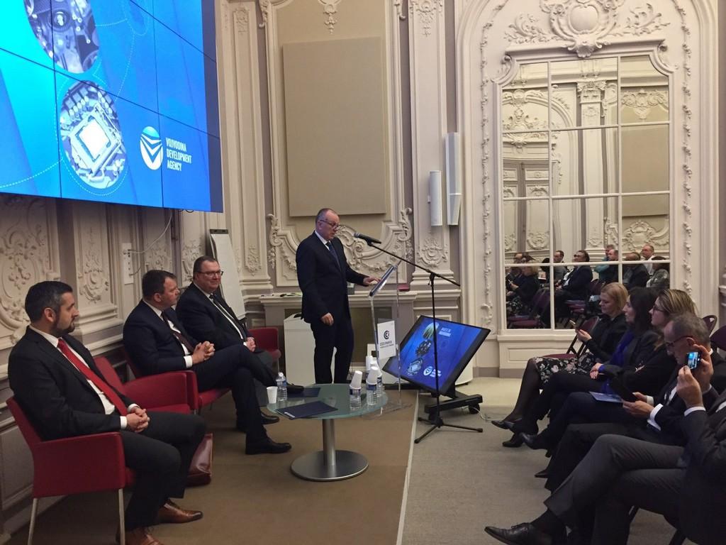 Представљени привредни потенцијали Војводине у Француској