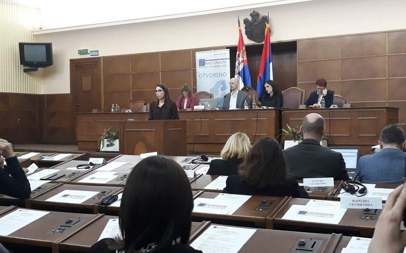 Привредна комора Војводине на пленарној Националног конвента о Европској унији