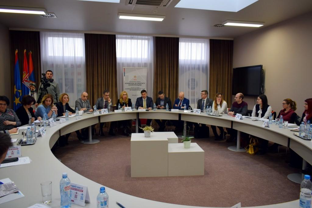 Јавна дискусија на тему нових правних решења у области заштите конкуренције