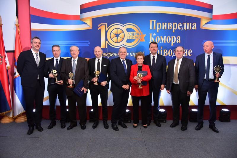 Привредна комора Војводине обележила век постојања и рада