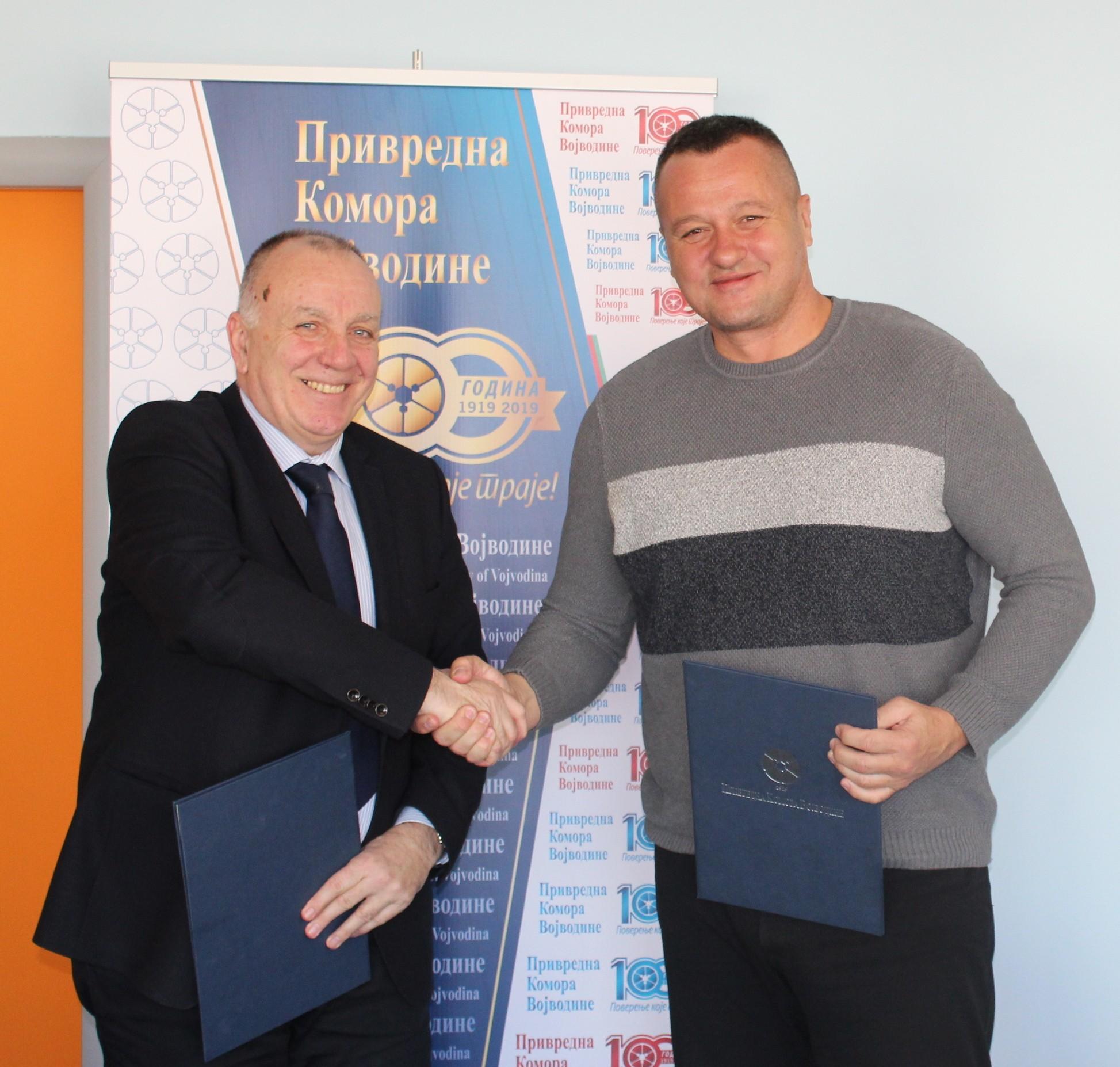 """Привредна комора Војводине озваничила сарадњу са """"Color media international"""""""