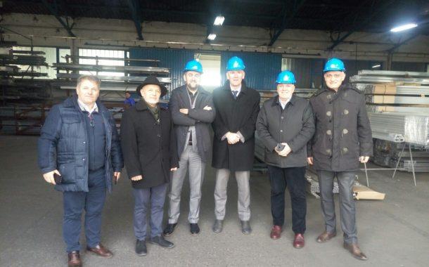 """Привредна комора Војводине у посети компанији """"Техномаркет"""" у Панчеву"""
