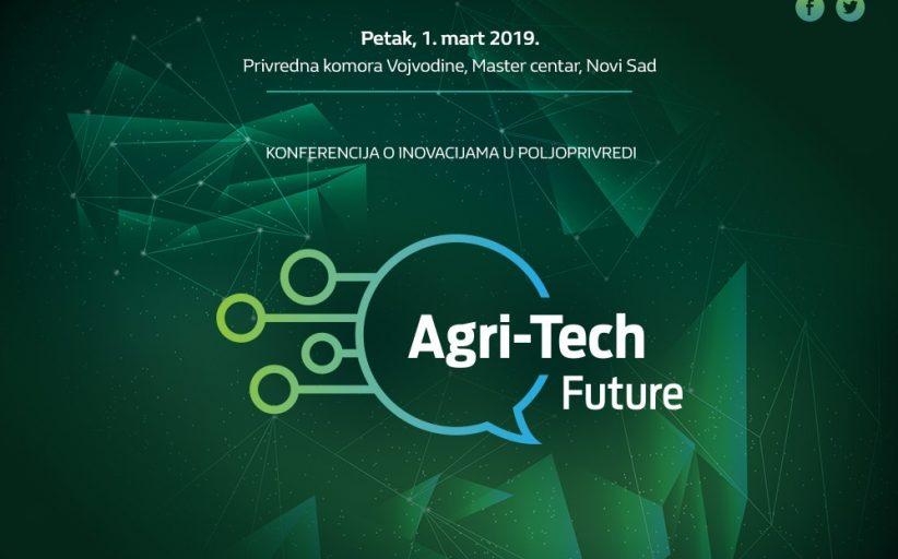 """Најава Конференције о технолошким иновацијама у пољопривреди """"Agri-Tech Future"""""""