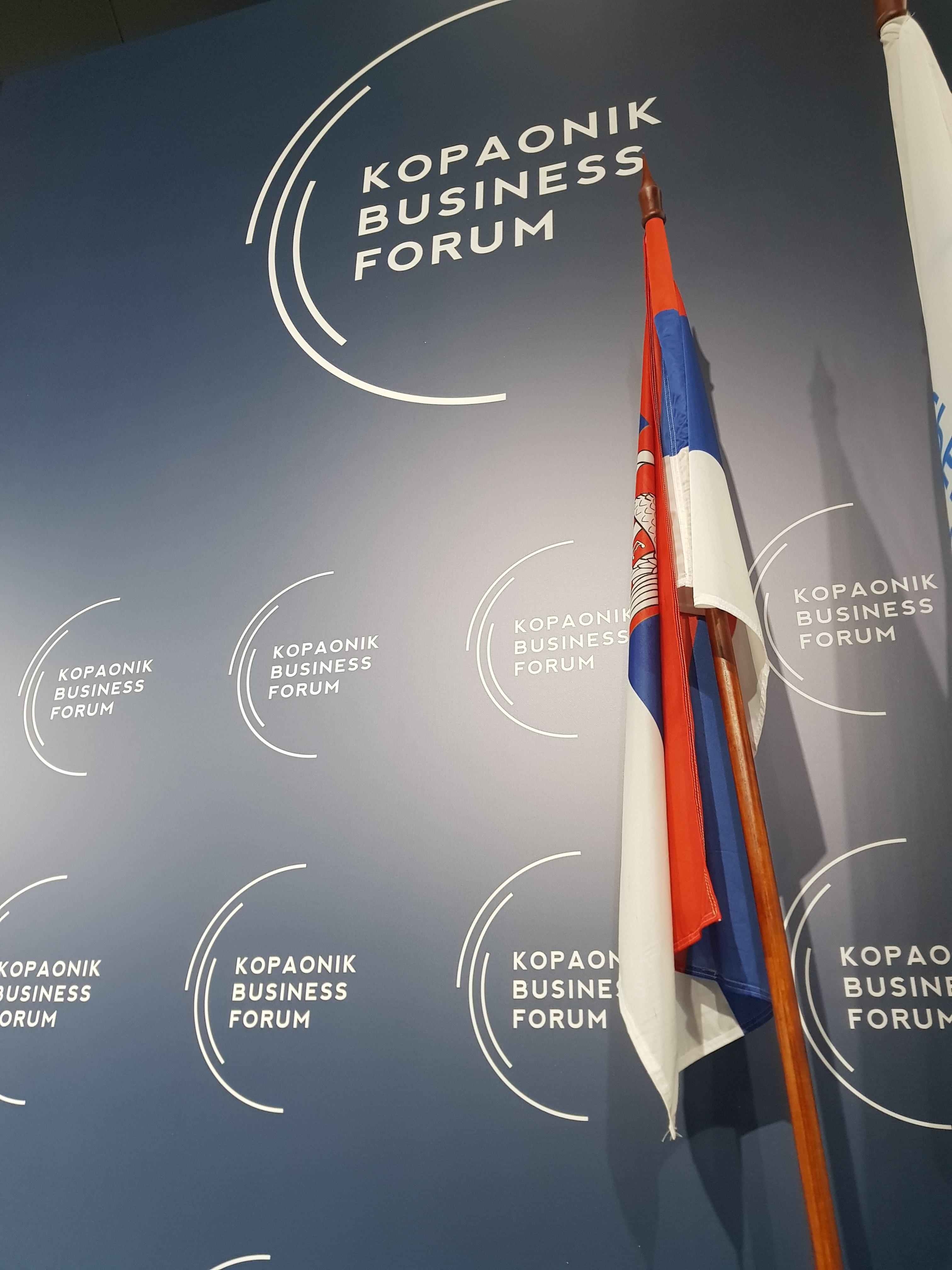 Привредна комора Војводине на 26. Копаоник бизнис форуму