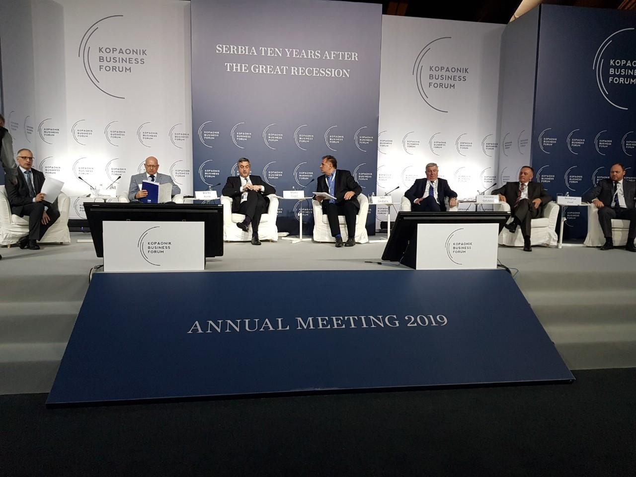 Привредна комора Војводине учесник панела током првог дана Копаоник бизнис форума