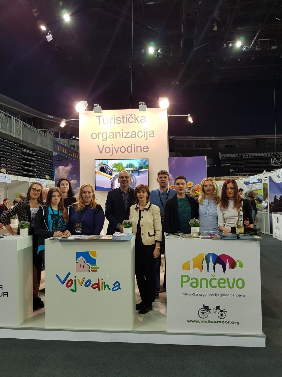 """Привредна комора Војводине на Међународном сајма туризма """"PLACE2GO"""" у Загребу"""