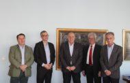 Francuski intelektualac Erve Živen u radnoj poseti Privrednoj komori Vojvodine