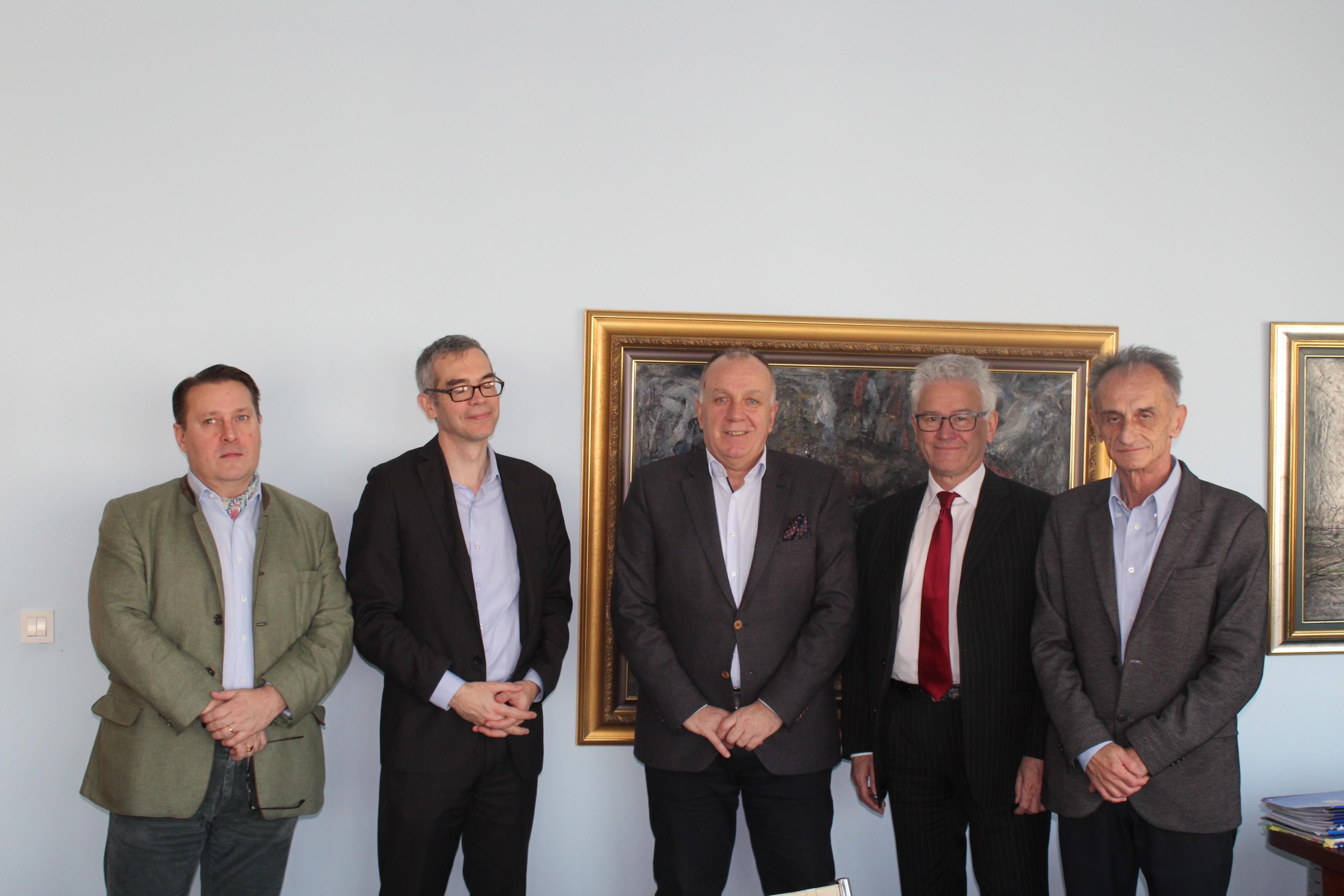 Француски интелектуалац Ерве Живен у радној посети Привредној комори Војводине