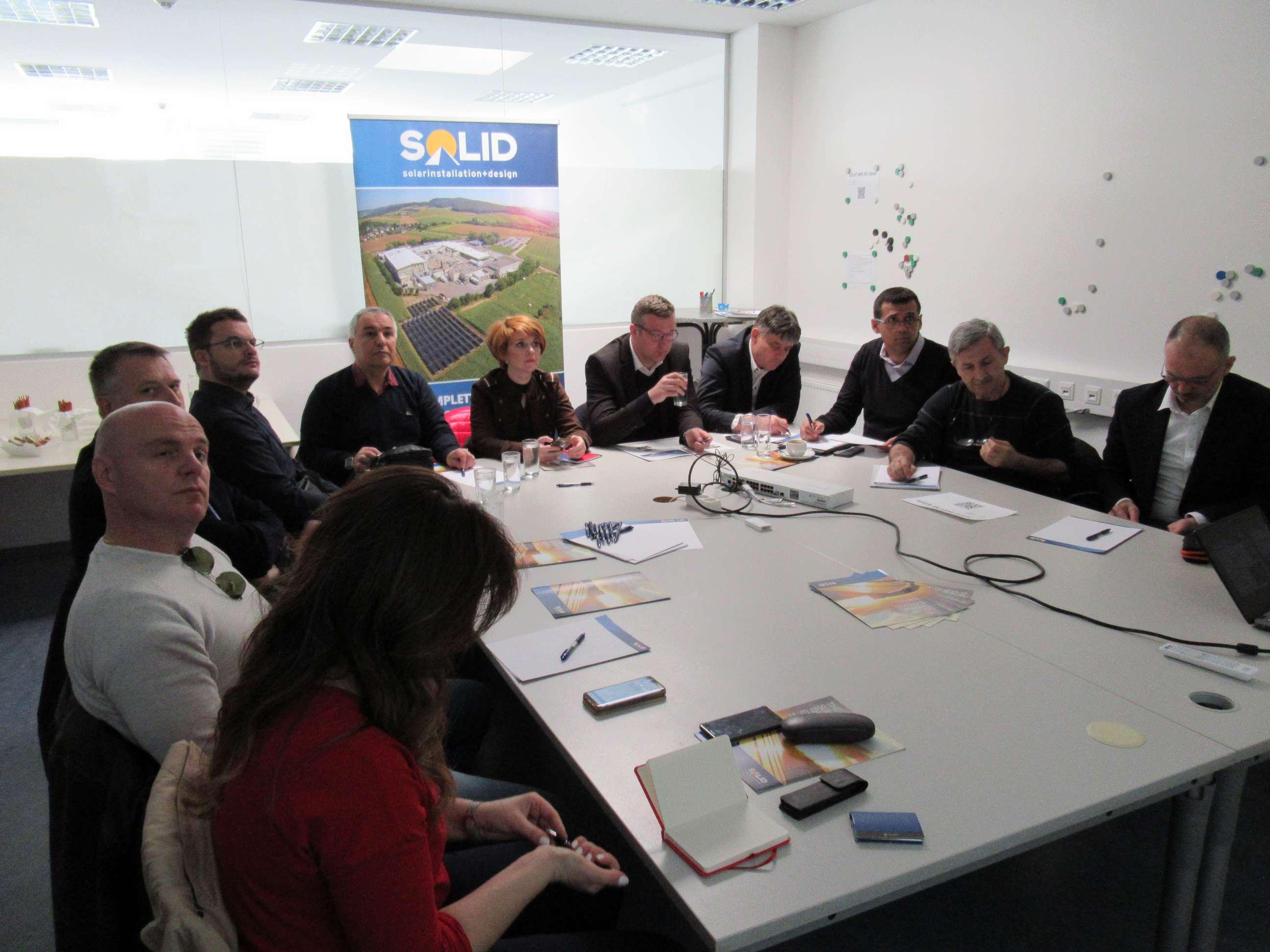"""Студијска посета компанији """"Solid International"""" у Грацу, Аустрија"""