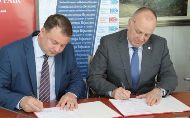 Протокол о сарадњи као круна досадање успешне сарадње Привредне коморе Војводине и Новосадског сајма
