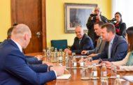 Председник Мировић примио министра Черкасова из Нижегородске области из Руске Федерације