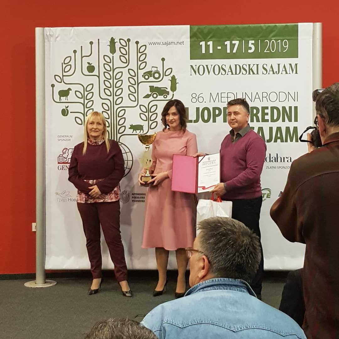 Уручена признања на Новосадском сајму