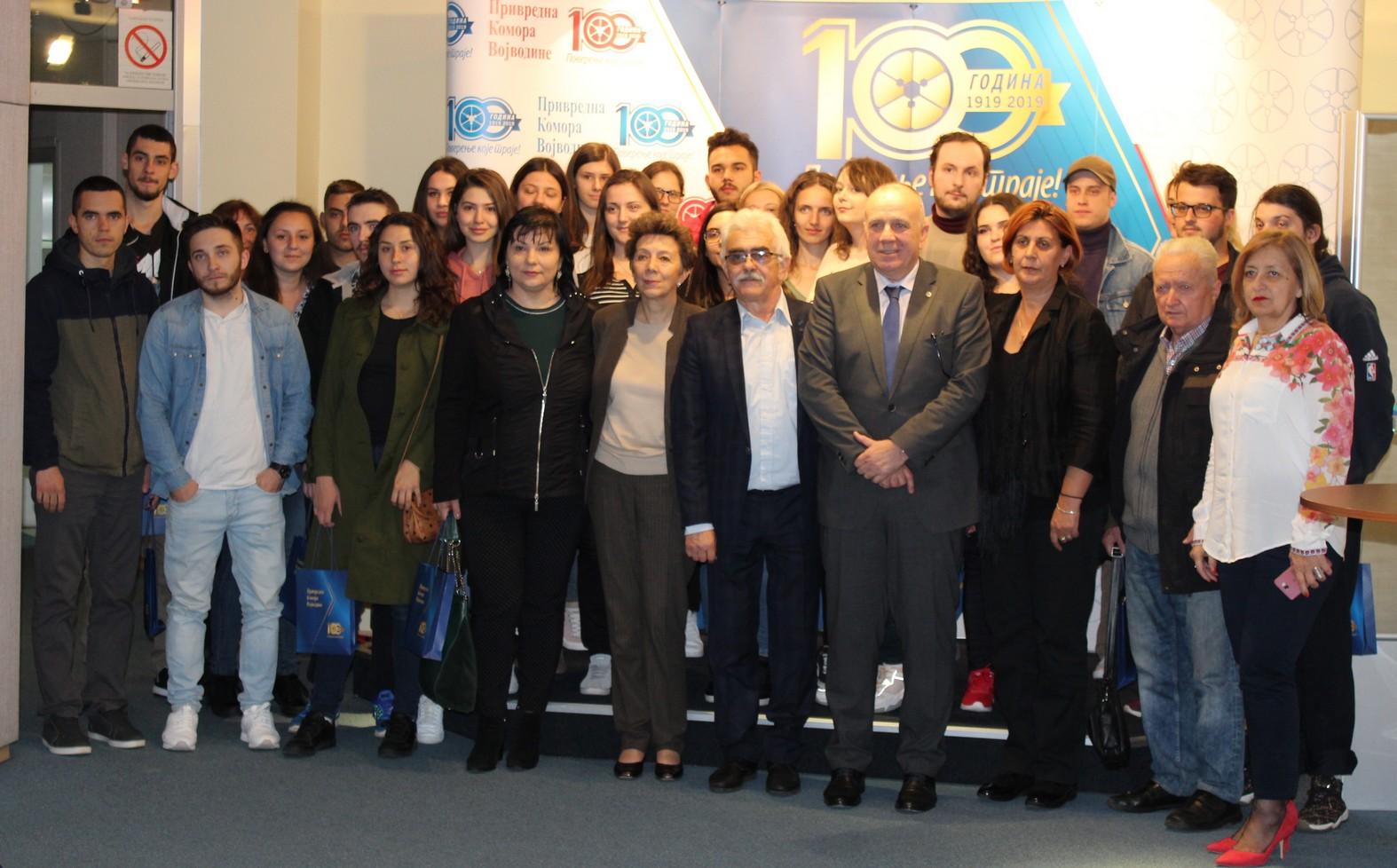 Studenti iz Rumunije u tradicionalnoj poseti Privrednoj komori Vojvodine