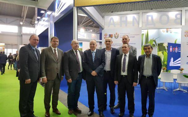 Привредна комора Војводине са председником Скупштине АП Војводине на 86. Међународном пољопривредном сајму