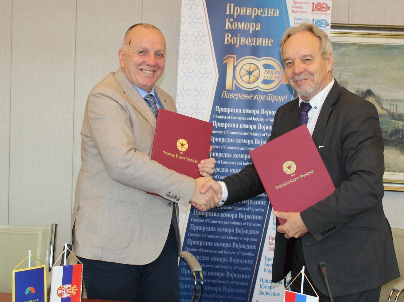 Privredna komora Vojvodine proširuje međunarodnu saradnju