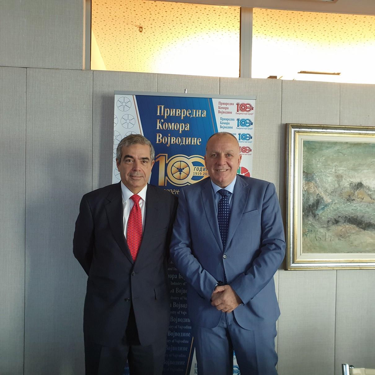 Ambasador Savezne Republike Brazila u Republici Srbiji posetio Privrednu komoru Vojvodine