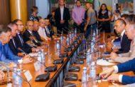 Сусрет са привредницима и делегацијом Владе Републике Српске у Привредној комори Војводине