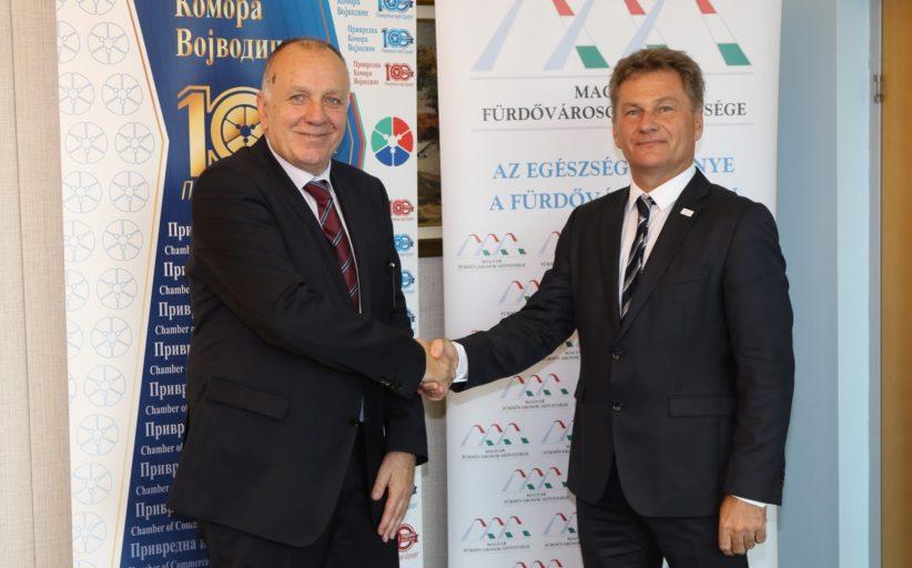 Привредна комора Војводине и Удружење бањских градова Мађарске озваничили сарадњу