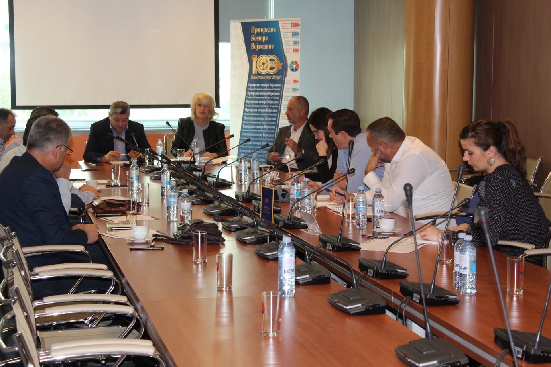 Одржана 6. седницa Групације за трговину Привредне коморе Војводине