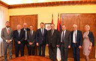 Privredna delegacija iz regije Val Doaz, Francuska u poseti Privrednoj komori Vojvodine
