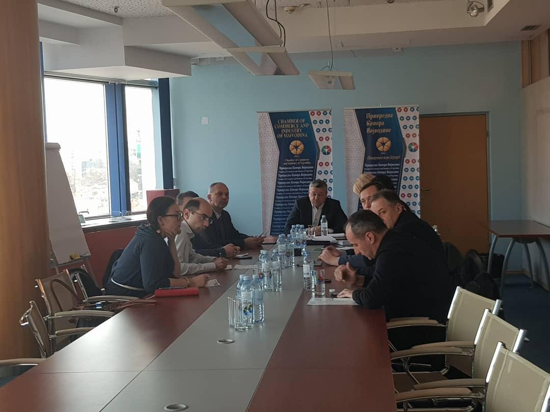 Одржана седма седницa Групације за трговину Привредне коморе Војводине