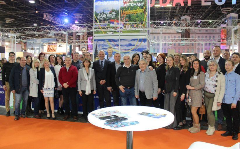 """Predstavljanje vojvođanske turističke privrede na Međunarodnom sajmu turizma u Budimpešti """"UTAZAS 2020"""""""