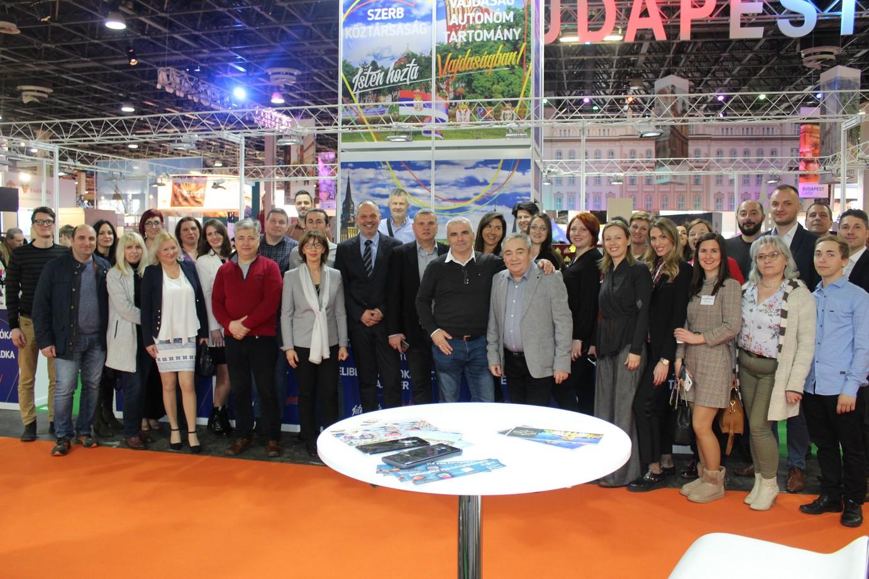 """Представљање војвођанске туристичке привреде на Међународном сајму туризма у Будимпешти """"UTAZAS 2020"""""""