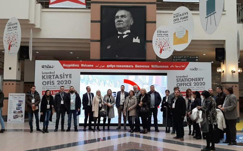 Privrednici na Internacionalnom sajmu kancelarijskog materijala i knjižara u Istanbulu