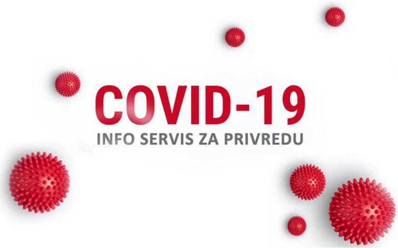 Privredna komora Srbije pokrenula COVID 19 info servis za privredu
