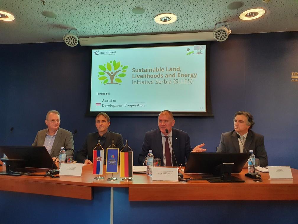 """У Привредној комори Војводине представљен пројекат  """" Иницијатива за одрживо коришћење деградираног пољопривредног земљишта као подршке енергетској одрживости и економском оснаживању руралних подручја у Србији """""""